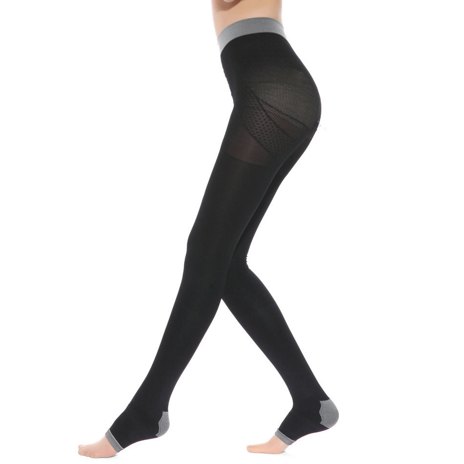 ef5cb20e8f67d Detail Feedback Questions about CIVS 047 Professional 2  pressure body  shapers high waist legs shapers   pantyhose 420D on Aliexpress.com