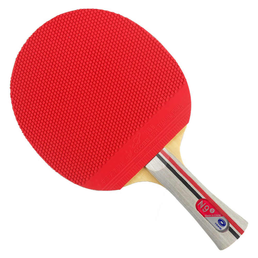 Pro Table Tennis PingPong Combo Racket Galaxy Yinhe N9s with 2x Globe 889 Rubbers Shakehand FL