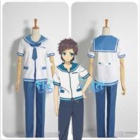 Hot!Anime Nagi no Asukara lsaki Kaname Sakishima Hikari Cosplay Sailor Costume S-2XL