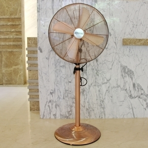 s fans rubbed floor team floors oscillating colored bronze standing fan oil