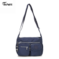TEGAOTE Brand Men S Bag Messenger Bags Waterproof High Quality Zipper Bag Crossbody Bag For Male