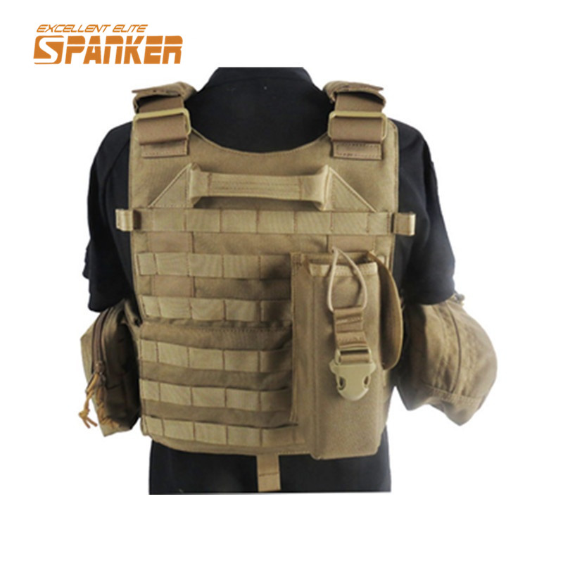 1000D Nylon Outdoor Sport Military Tactical Molle Vest Men Airsoft Combat Shooting Hunting Vests Paintball Clothing Wear