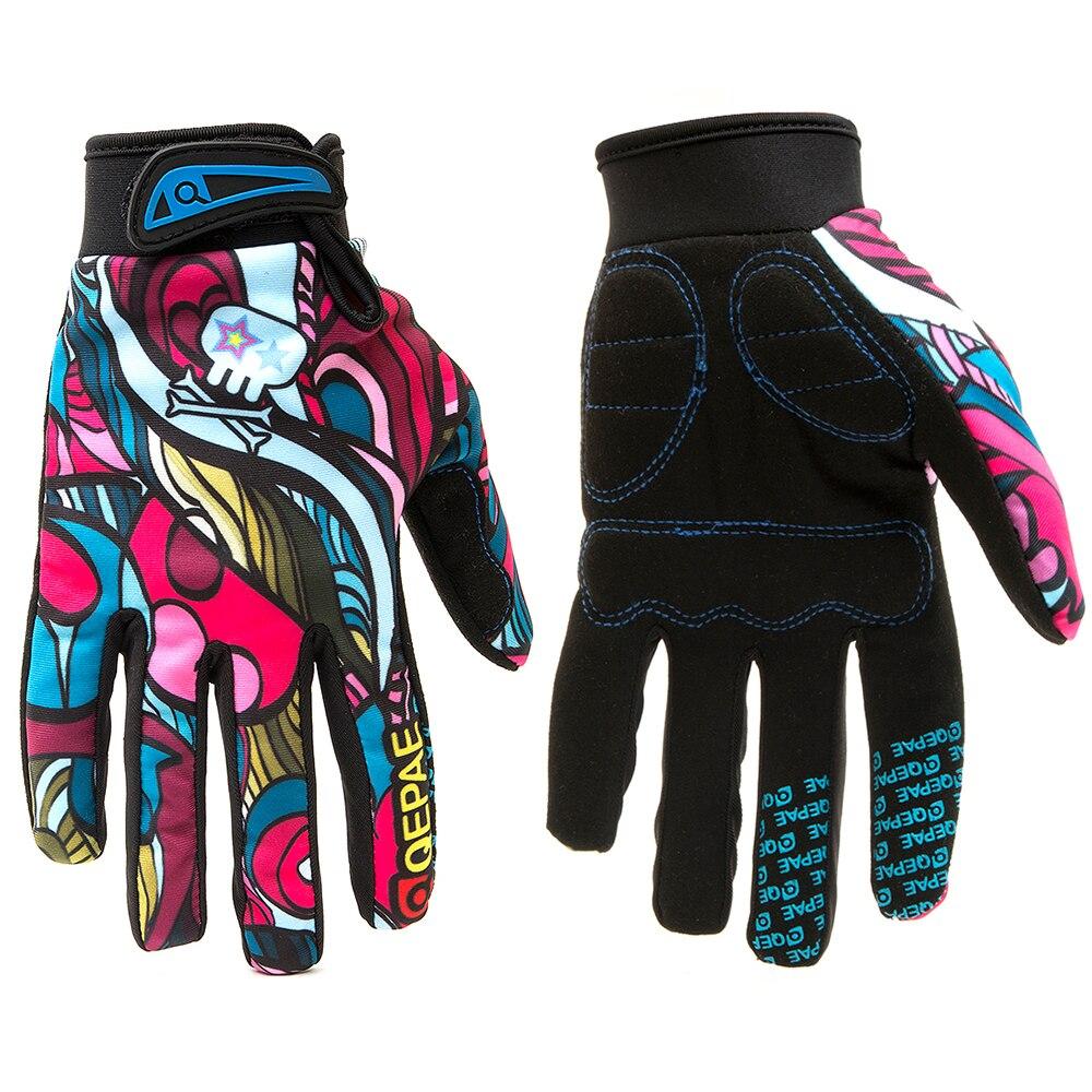 Qepae luvas de Dedos Completos Motocicleta Luvas de Inverno Tela Sensível Ao Toque Luvas de Corrida Moto/Esqui/Escalada/Ciclismo/Equitação Esporte Motocross Luva