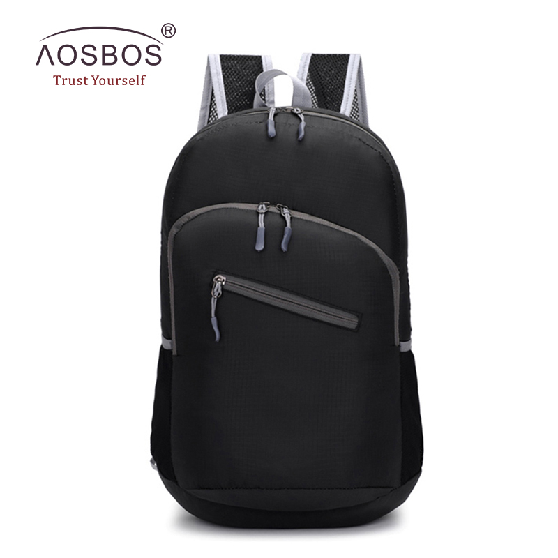 AOSBOS New Waterproof Causal Fashion  Backpack Men KnapsAck Travel Backpack Bags unisex  Preppy Style Bag Free Shipping aosbos fashion portable insulated canvas lunch bag thermal food picnic lunch bags for women kids men cooler lunch box bag tote