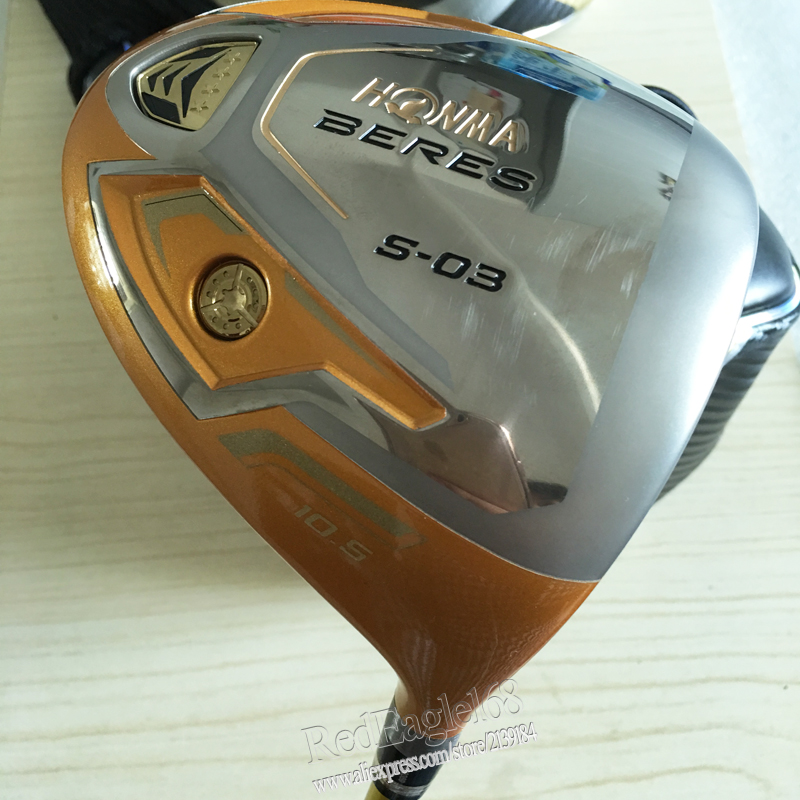 Подробнее о New mens Golf clubs HONMA S-03 4 Star Golf driver 9.5 or 10.5 loft  driver clubs with Graphite Golf shaft free shipping new golf clubs honma is 02 golf hybrids wood or 16 22 25 1pcs lot graphite golf shaft and clubs grips free shipping