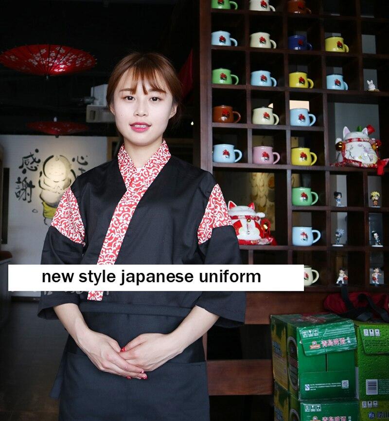 f6389082f 2018 UNISEX Japón cocina cocinero servicio sushi uniforme ...