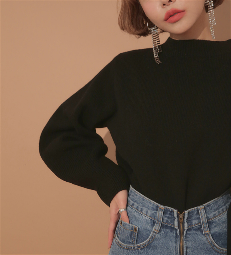 Up Hiver Pull Whitney Dentelle Sexy Nu Dos Wang Streetwear 2018 Femme Automne Chandails Jumper Mode Pulls Femmes pp4tvqw