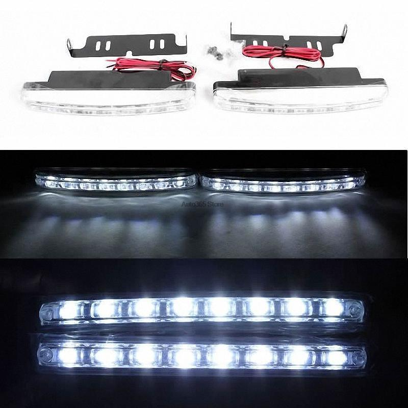 19cm DRL LED Lights Lighting Lamp For Fiat Croma Doblo Duna Idea