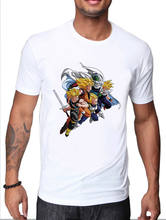 TRONCOS de DRAGON BALL Z CAMISETA GOKU GOHAN PICCOLO VEGETA SUPER SAIYANS(China)