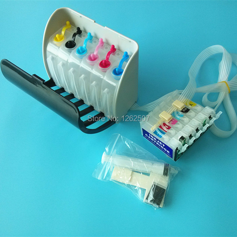BOMA-TEAM Brand New Ciss For Epson px660 px 660 Continuous Ink Supply System For Epson T0791-T0796 Bulk ink cis with ARC chip купить недорого в Москве