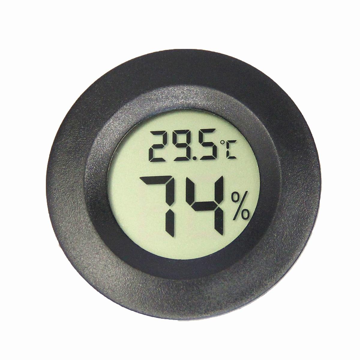מיני LCD מד טמפרטורה דיגיטלי היגרומטר מקרר מקפיא בודק טמפרטורה אינקובטור חיות מחמד צב ביצים ביצים חיישן