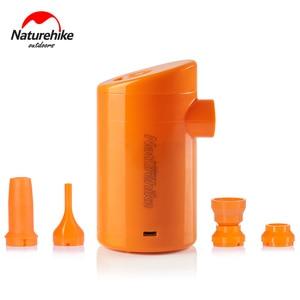 Image 4 - Naturehike Elektrische Aufblasbare Pumpe Für Outdoor Air Matte Camping Feuchtigkeit beweis Matratze Reise Kissen Mini Tragbare Aufblasbare