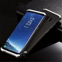 S8 плюс алюминиевый корпус металлический каркас + Поликарбонат обложка чехол для Samsung Galaxy S8/S8 плюс полное тело сумка Защита S7 крышка