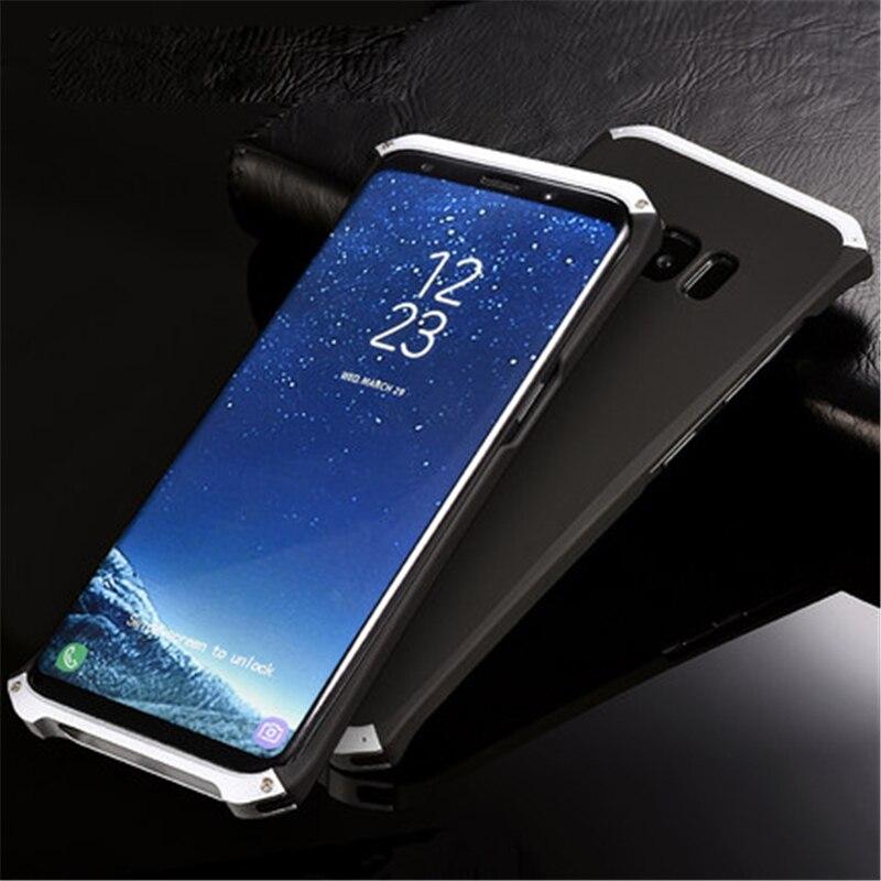 Цена за S8 плюс алюминиевый корпус металлический каркас + Поликарбонат обложка чехол для Samsung Galaxy S8/S8 плюс полное тело сумка Защита S7 крышка