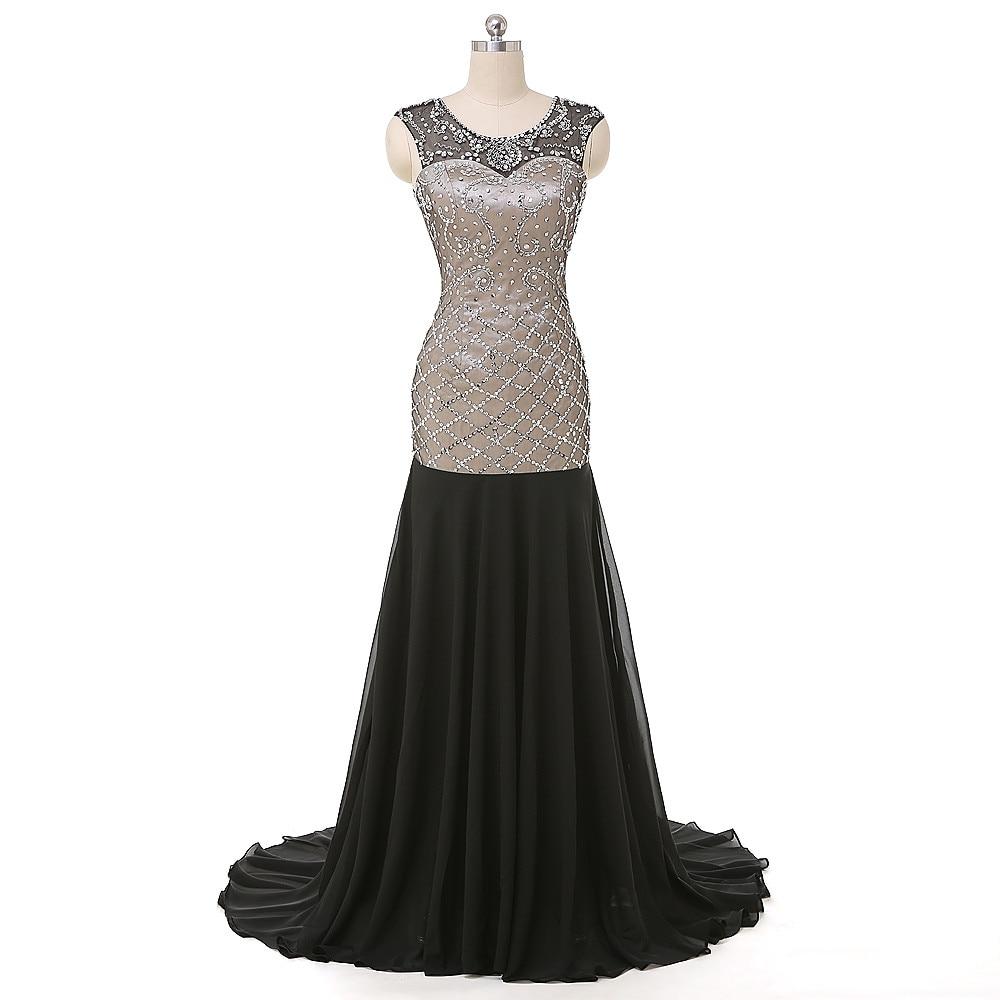 Élégant Noir Haut Bas Robes De Bal 2016 Sexy Demi Manches En Dentelle Robes De Soirée Sur Mesure Make Long Robe Formelle robe de festa