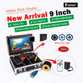 "EYOYO Original 30M Depth Underwater Fishing Camera 9"" LCD Color Display While Light LED Fish Finder +Cell Box&Remote Control"
