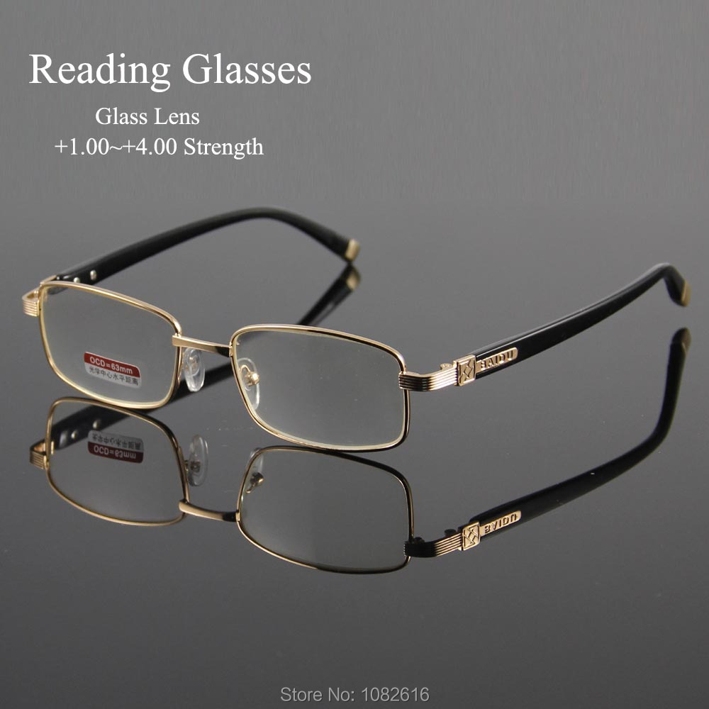 1e41db0490 Detail Feedback Questions about Reading Eyeglasses Presbyopic Spectacles  Clear Glass Lens Unisex Glasses Frame of Glasses Strength +1.0 ~ +4.0  oculos of ...