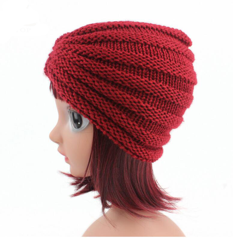 69d70d700e9 new arrival children hats caps girls warm hats india dome hats kids winter  beanie turban hats baby knitted caps -in Hats   Caps from Mother   Kids on  ...