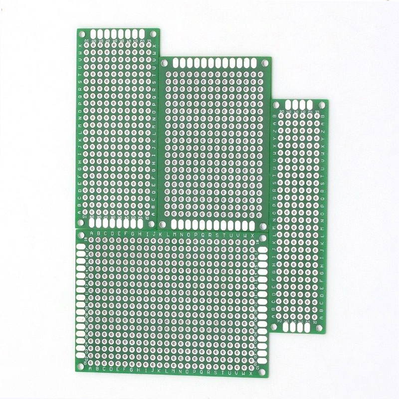 цена на 20pcs Double Side PCB Prototype Board Mayitr Universal Circuit Protoboard Breadboard 4 Sizes