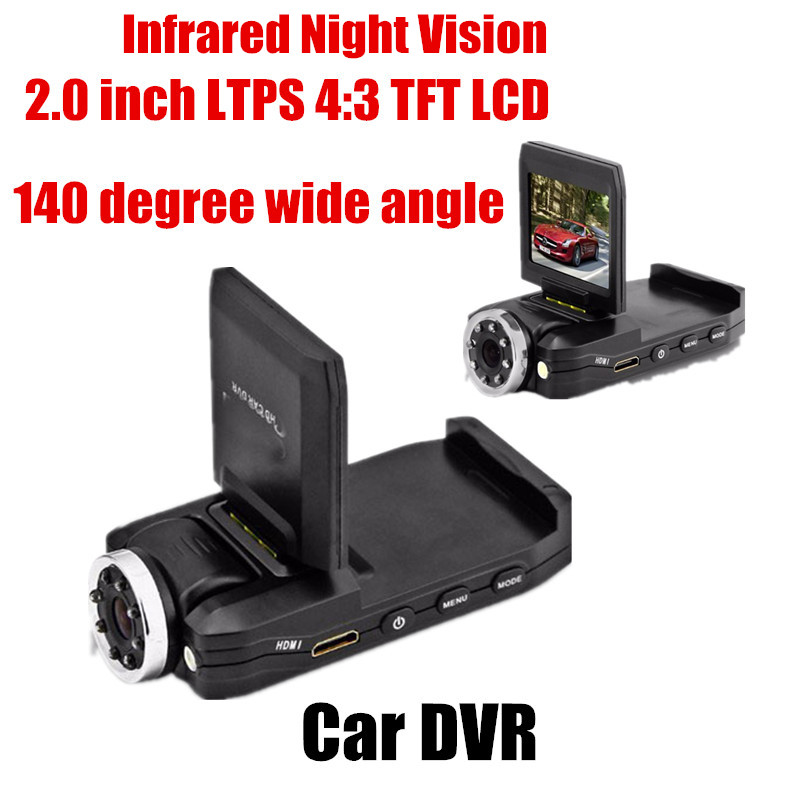 цена на Original car DVR Full HD Car DVR mini auto 8LED video recorder camcorder 2.0 inch 140 degree wide angle infrared night vision