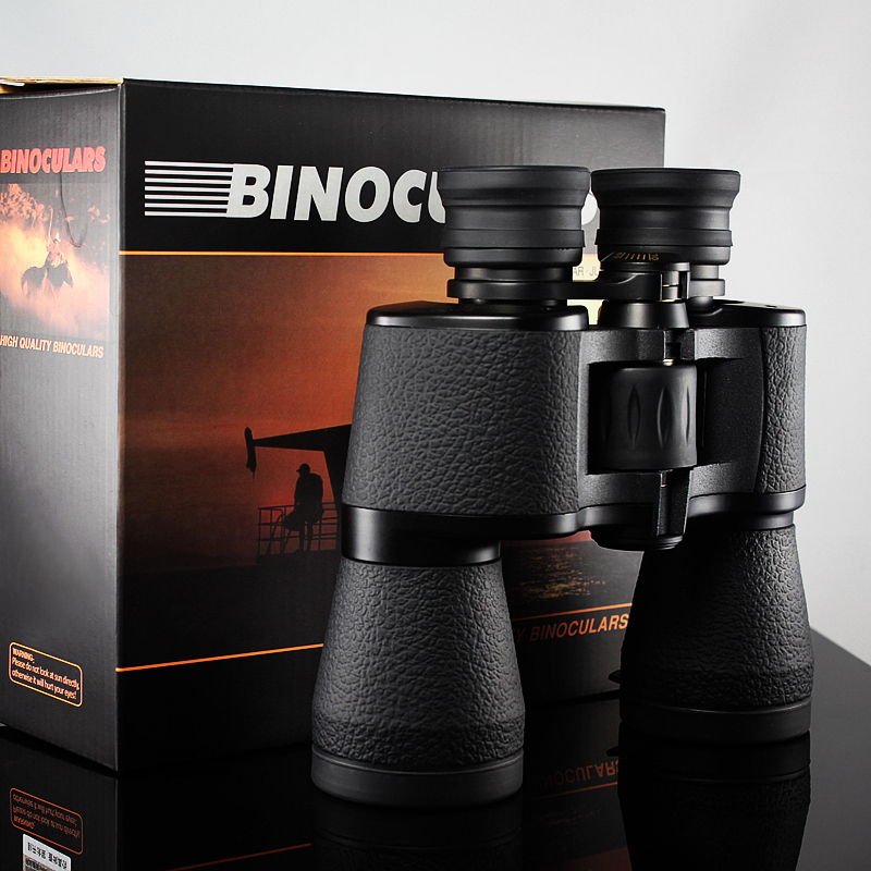 New <font><b>20x50</b></font> Binoculars Professional Hd Powerful Military Binocular High Times Zoom Telescope Lll Night Vision For Hunting Camping image