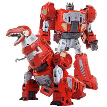 New Anime Devastator Movie Toy COOL Transformation Oversize KO G1 Robot dinosaur Action Figure Model older kids boy toys [hot] action figure ko version kids classic robot cars devastator right thigh action figure toys for children model toy