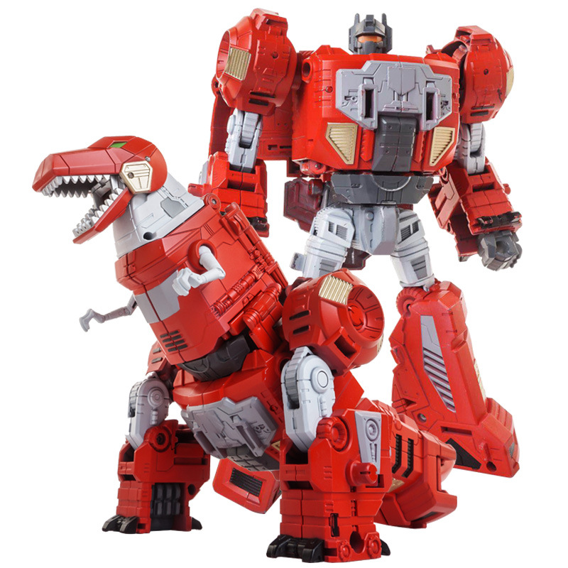 New Anime Devastator Movie <font><b>Toy</b></font> <font><b>COOL</b></font> Transformation Oversize KO G1 Robot dinosaur Action Figure Model older <font><b>kids</b></font> boy <font><b>toys</b></font> image