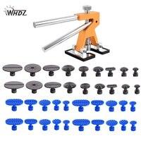 WHDZ PDR Tools Dent Puller Kit Car Paintless Dent Repair Tools Auto Repair Tool Set Glue Tabs Sucker Suction Cup Hand Tools Set