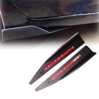 Universal Splitters Rear Side Skirt for 3 Series F30 320i 325i 328i 335i M Sport Sedan 4 Door Skirts Splitters Flaps Winglet