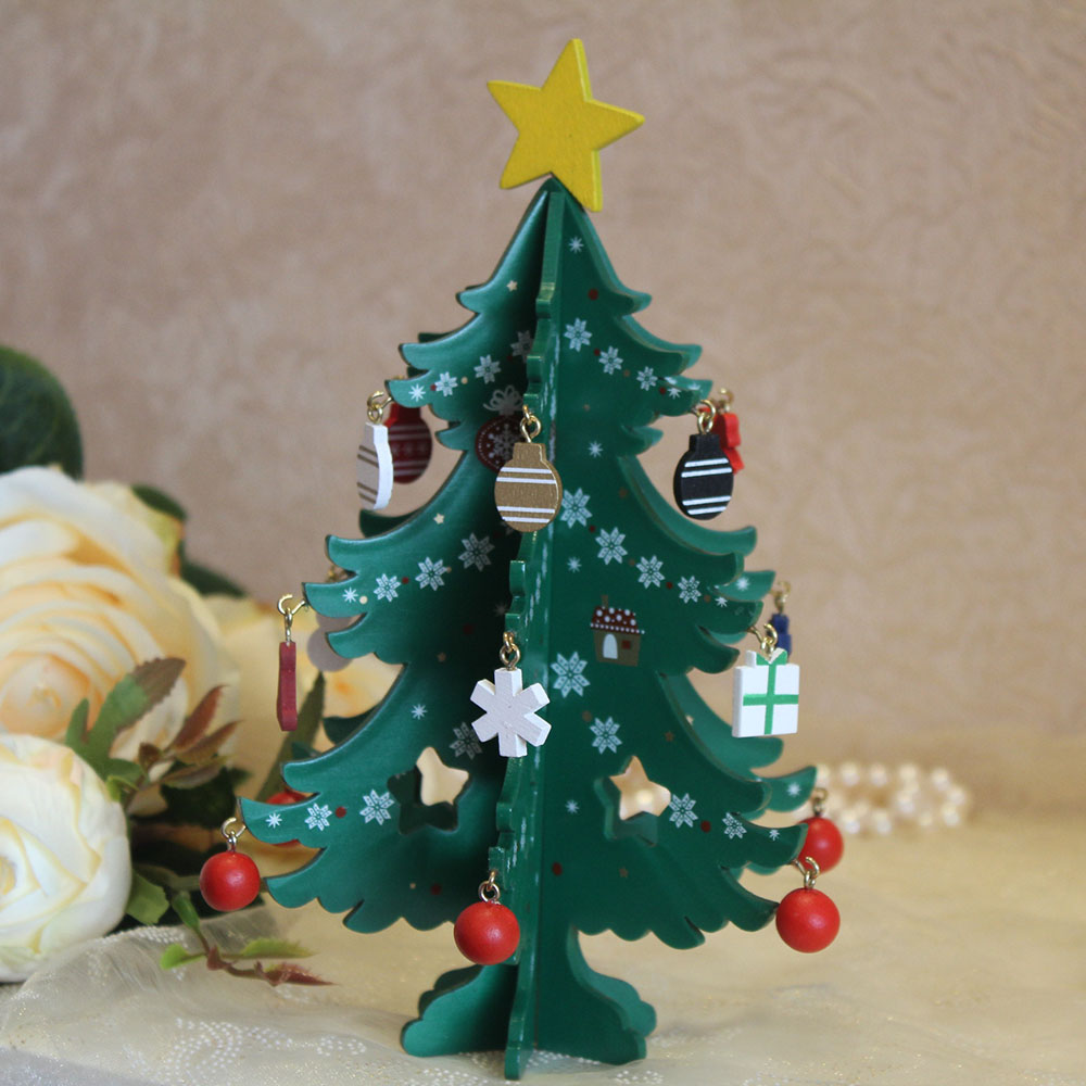 Fashion Magic Mini Christmas Tree Festival Decorations For ...