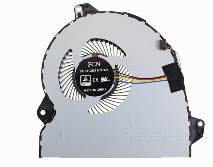 new original for ASUS ROG Strix GL553V GL553VE GL553VD GL553VW FAN ноутбук asus rog gl553vd dm203 90nb0dw3 m05790