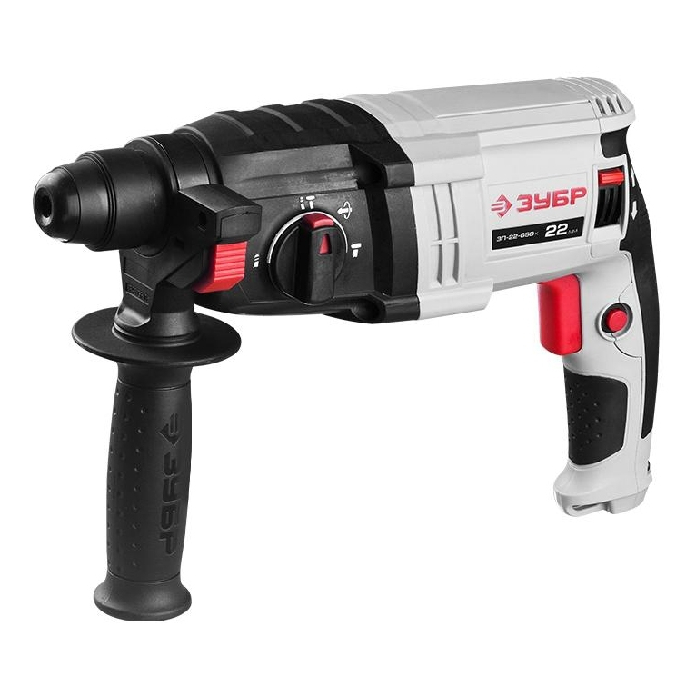 Electric hammer drill BISON ЗП-22-650 TO (Power 650 W impact energy 2,3 J, brush, reverse, SDS +) brush power tube pk10