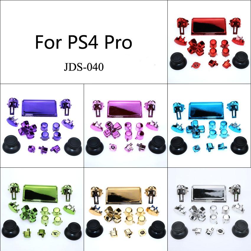 YuXi 16sets Dpad R1 R2 L1 L2 Jds-040 Jds 040 Buttons Mod Kits Set For PS4 Pro Slim Controller Joystick Video Accessories