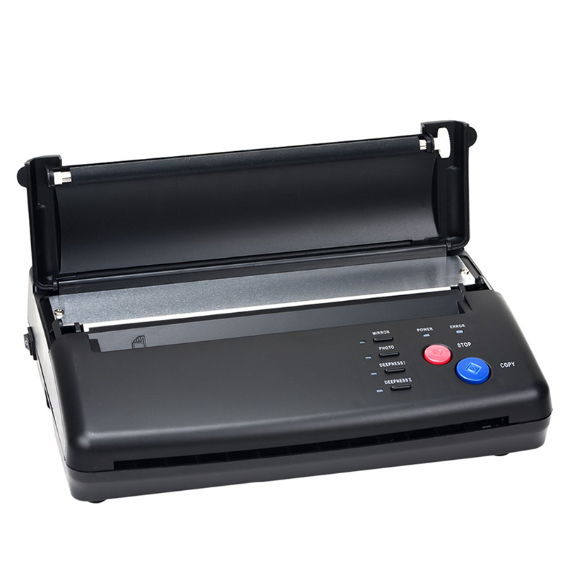 Hot High Quality Tattoo Transfer Machine Printer Drawing Thermal Stencil Maker Copier For Tattoo Transfer Paper Free Shipping second hand transfer unit for minolta di163 high quality photocopy machine copier parts di 163