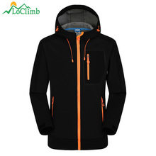 New Waterproof Softshell Ski Jacket Men Women Winter Warm Tech Fleece Rain Coat Outdoor Trekking Fishing Hiking Jackets,AM092 2017 men waterproof windproof anti uv fishing ski hiking coats spring winter outdoor tech fleece softshell two pieces jacket