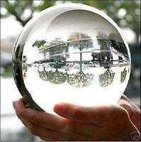 En gros 150mm + Stand Asiatique Quartz Naturel Effacer Magic Crystal Healing Sphère De Boule Gem pierre Magic Crystal Healing Boule sphère