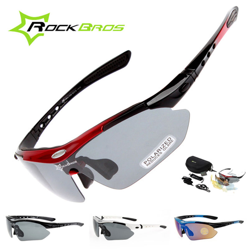 Polarized Cycling Glasses 5 Lens Clear Bike Glasses Eyewear UV400 Proof Outdoor Sport Sunglasses Men Women Oculos Gafas Ciclismo bicycle glasses pc glasses outdoor cycling eyewear sunglasses mountain bike ciclismo oculos de sol for men women bicycle glasses