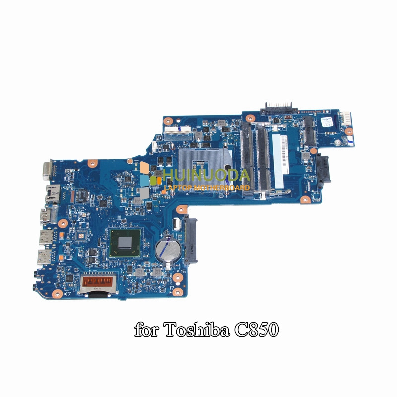 NOKOTION H000052740 laptop motherboard For toshiba satellite L850 C850 15.6 inch intel Graphics ddr3 Mainboard hireno headlamp for 2013 2015 ford kuga escape se headlight assembly led drl angel lens double beam hid xenon 2pcs
