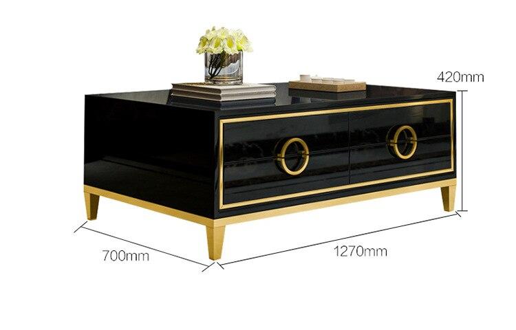 2be0e39512d6 Cheap Natural de cristal de acero inoxidable mesa de café mesa de casa  habitación muebles minimalista