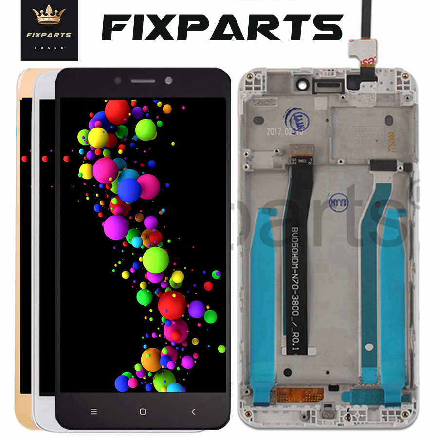 "Original 5.0"" Xiaomi Redmi 4X LCD Display Touch Screen Digitizer Assembly With Frame Replacement For Xiaomi Redmi 4X Screen LCD"