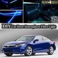 Для Honda для Accord внутренний окружающий свет тюнинг атмосфера волоконно-оптический ленточный свет внутри Дверная панель Настройка освещения