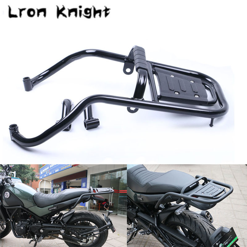 For Benelli BJ500 BJ 500 Leoncino Luggage Rack Bar Motorcycle Accessories Rear Tail Wing Shelves Armrest Holder Guard Motorbike motorcycle soft grip gripper soft seat cover for benelli leoncino 500 bj500