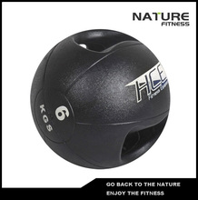 6kgs Double Grip Handles Medicine Ball /Core Ball For Strength Training(China)