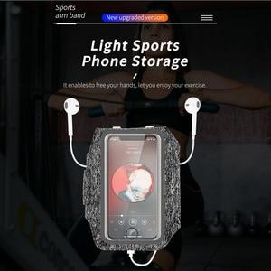 Image 5 - ロックスリムスポーツ腕章ポーチ携帯電話防水バッグ以下 7 インチケース iphone 11 xs サムスン s20 huawei 社 p30 プロ