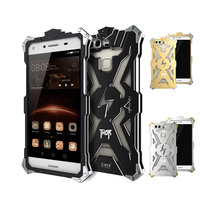 Simon Thor Series Luxury Aviation Aluminum Armor Metal Phone Cases Cover For Huawei P8 Lite Case