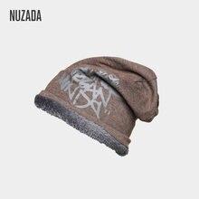 Nuzada брендовая плюшевая утолщенная зимняя шапка для девочек