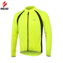 ARSUXEO 2018 Breathable Pro Team Long Sleeve Cycling Jersey for Men and Women Bike Bicycle MTB Clothing Shirts Wear Bike Jerseys цена