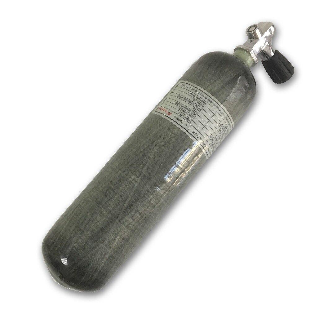 AC10351 gas cylinder 3L bottle air gun paintball carbon 4500 psi mini scuba diving pcp rifle of air tank and valve airsoft parts