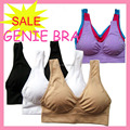 wholesale 100pcs/lot=33 sets Genie Bra with removable pads Sexy Seamless two layer ahh BRA BODY SHAPER Push Up free shipping