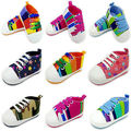 Toddler Newborn Baby boys Girl Soft Crib Prewalker Sole Shoes Sports Anti-slip Infant Sneaker Shoes
